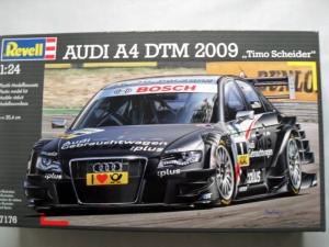 REVELL 1/24 07176 AUDI A4 DTM 2009 TIMO SCHNEIDER