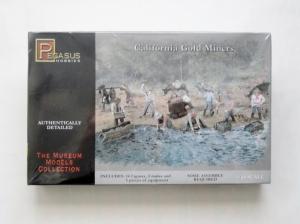 PEGASUS HOBBIES 1/48 7007 CALIFORNIA GOLD MINERS