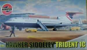 AIRFIX 1/144 03174 HAWKER SIDDELEY TRIDENT 1C BA