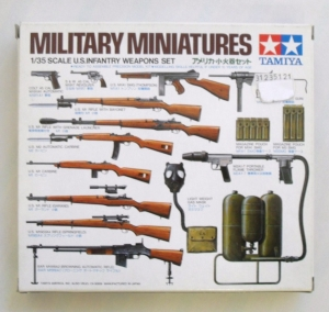 TAMIYA 1/35 35121 US INFANTRY WEAPONS SET