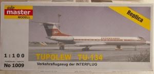 ADP MASTER 1/100 1009 Tu-134 INTERFLUG