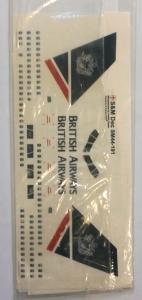 S M MODELS 1/144 1298. 44191 BRITISH AIRWAYS BOEING 757