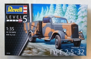 REVELL 1/35 03250 GERMAN TRUCK TYPE 2.5-32