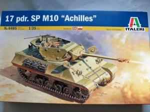 ITALERI 1/35 6485 17 pdr. SP M10 ACHILLES