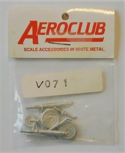 AEROCLUB 1/72 V071 EE. LIGHTNING U/C SET