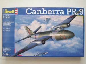REVELL 1/72 04281 CANBERRA PR.9