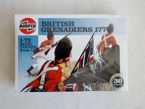 AIRFIX 1/72 01740 BRITISH GRENADIERS 1776