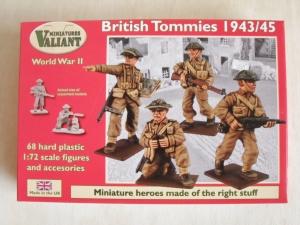 VALIANT MINIATURES 1/72 001 WWII BRITISH TOMMIES