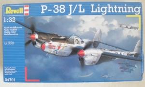 REVELL 1/32 04701 P-38 J/L LIGHTNING