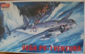 ACADEMY 1/72 1677 VEGA PV-1 VENTURA EARLY