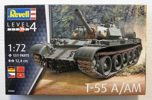 REVELL 1/72 03304 T-55 A/AM