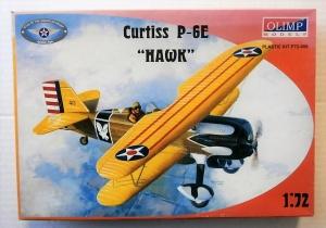 OLIMP 1/72 72-006 CURTISS P-6E HAWK