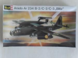 REVELL 1/72 4162 ARADO Ar 234 B-2/C-2/C-3 BLITZ