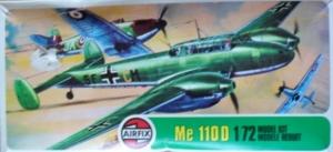 AIRFIX 1/72 02006 MESSERSCHMITT Me 110D