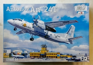 A MODEL 1/72 72160-01 An-24T PHOENIX AVIATION