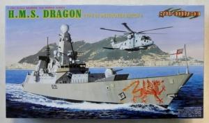 CYBER-HOBBYCOM 1/700 7109 H.M.S DRAGON TYPE 45 DESTROYER BATCH 2