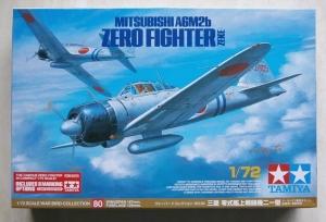TAMIYA 1/72 25170 MITSUBISHI A6M2B ZERO FIGHTER ZEKE