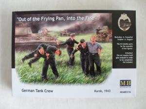 MASTERBOX 1/35 3536 GERMAN TANK CREW KURSK 1943