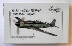 PLANET MODELS 1/72 120 FOCKE WULF Fw 190D-14 WITH DB603 ENGINE