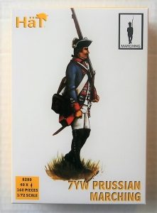 HAT INDUSTRIES 1/72 8280 PRUSSIAN INFANTRY MARCHING