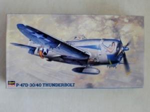 HASEGAWA 1/48 JT41 P-47D-30/40 THUNDERBOLT