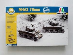 ITALERI 1/72 7521 M4A3 76mm SHERMAN