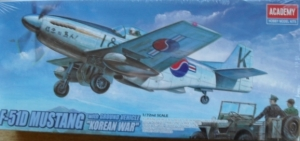 1/72 2205 F-51D MUSTANG KOREAN WAR