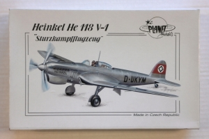 PLANET MODELS 1/72 109 HEINKEL He 118 V-1 STURZKAMPFFLUGZEUG