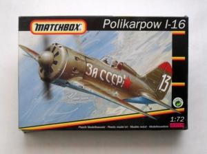 MATCHBOX 1/72 40019 POLIKARPOV I-16