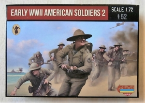STRELETS 1/72 M113 EARLY WWII AMERICAN SOLDIERS 2
