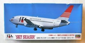 HASEGAWA 1/200 LT121 BOEING 737-200 SKY SEASIR