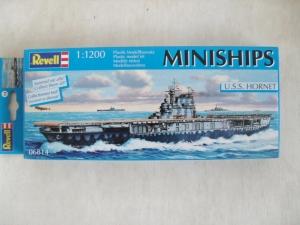 REVELL 1/1200 06814 USS HORNET