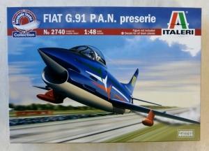ITALERI 1/48 2740 FIAT G.91 P.A.N PRESERIE