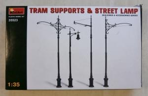 MINIART 1/35 35523 TRAM SUPPORTS   STREET LAMP