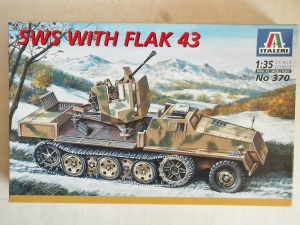 ITALERI 1/35 370 SWS WITH FLAK 43