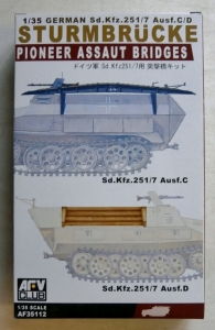 AFV CLUB 1/35 35112 GERMAN PIONEER ASSAULT BRIDGE