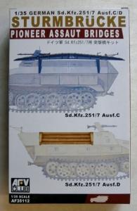 AFV CLUB 1/35 35112 GERMAN PIONEER ASSAULT BRIDGE