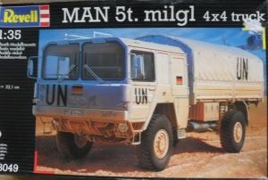 REVELL 1/35 03049 MAN 5t milgl