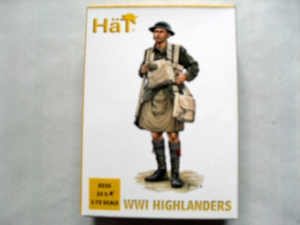 HAT INDUSTRIES 1/72 8235 WWI HIGHLANDERS