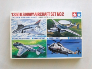TAMIYA 1/350 78009 US NAVY AIRCRAFT SET No.2
