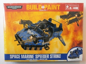 WARHAMMER 40000  SPACE MARINE SPEEDER STRIKE BUILD   PAINT