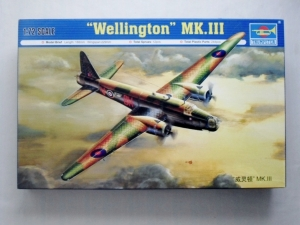 TRUMPETER 1/72 01627 WELLINGTON Mk.III