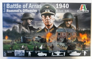 ITALERI 1/72 6118 BATTLE OF ARRAS 1940 ROMMELS OFFENSIVE BATTLE SET