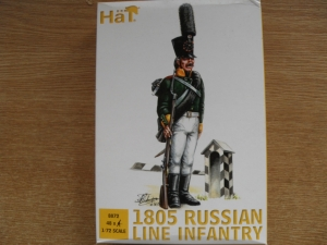 HAT INDUSTRIES 1/72 8072 1805 RUSSIAN LINE INFANTRY