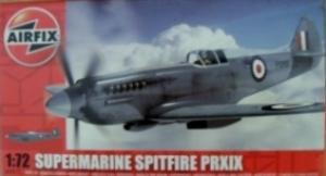 AIRFIX 1/72 02017 SUPERMARINE SPITFIRE PR.XIX