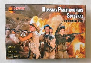 MARS 1/72 72001 RUSSIAN PARATROOPERS SPETSNAZ