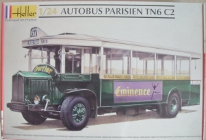 HELLER 1/24 80789 AUTOBUS PARISIEN TN6 C2