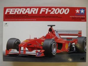 TAMIYA 1/20 20049 FERRARI F1-2000 FULL VIEW