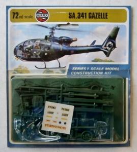 AIRFIX 1/72 01059 SA.341 GAZELLE  1973 SCHEME