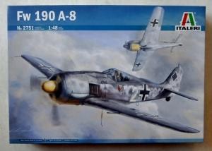 ITALERI 1/48 2751 FOCKE-WULF Fw 190 A-8